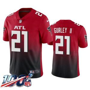 Falcons Todd Gurley II Red Jersey